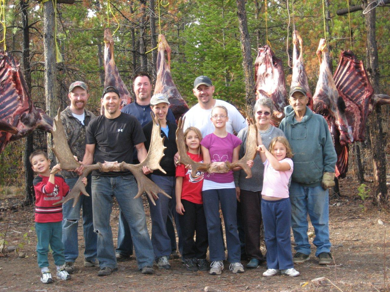 The baird family hunt 2010 abbotsford fish and game club for The hunt and fish club