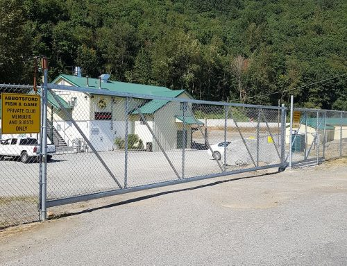 New Club Gates Installed and Active